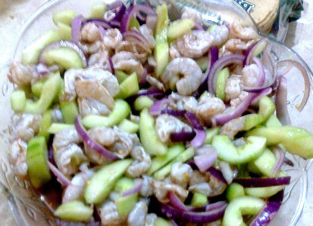 Aguachile Mexican Food Shrimp