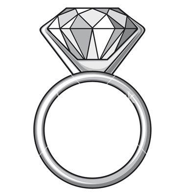 Diamond Ring Templet Art