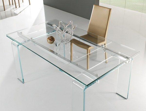 Tavolo espandibile ~ Tavolo contemporaneo fisso o allungabile modern tables