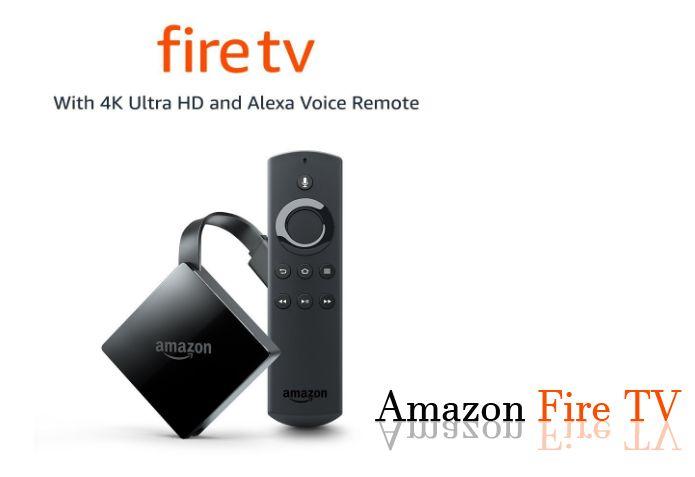 Amazon Fire TV HD 4K Ultra Entertainment Alexa Voice