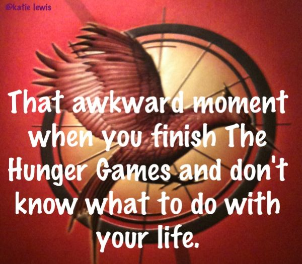 I now spend my time on Pinterest. ...Pinning about Hunger Games. Now i have no idea what I will do with my life after all the movies come out. :/ hahah