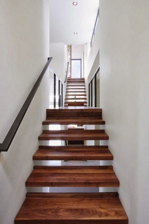 Lovely 30 Different Wooden Types Of Stairs For Modern Homes