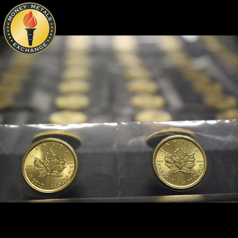 1 4 Oz Canadian Gold Maple Leaf 9999 Pure Gold Coins Money Metals Gold Coins Money Gold Coin Price Gold Coins