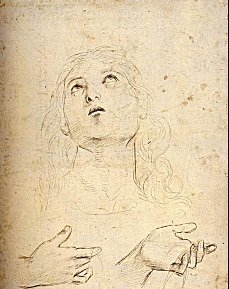 Raphael Santi Ou Sanzio 1483 1520 Dessin Etude Tete Saint Thomas