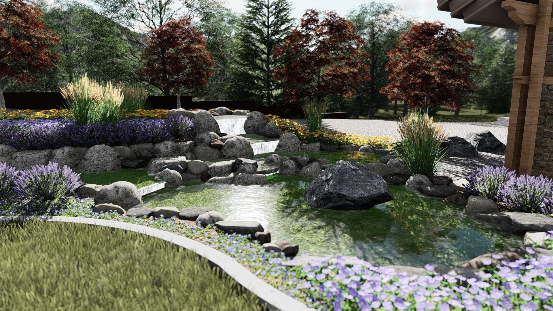 Pin By Matt Hiner On Landscape Plans Renderings Landscape Design Tropical Landscape Design Landscaping Images