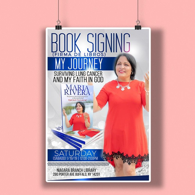 Flyer Designed For Maria Rivera S Upcoming Book Signing Flyerdesign Flyer Designedbytamlyn Designsthatpop Putmetoworkfory Book Signing Flyer Design Flyer