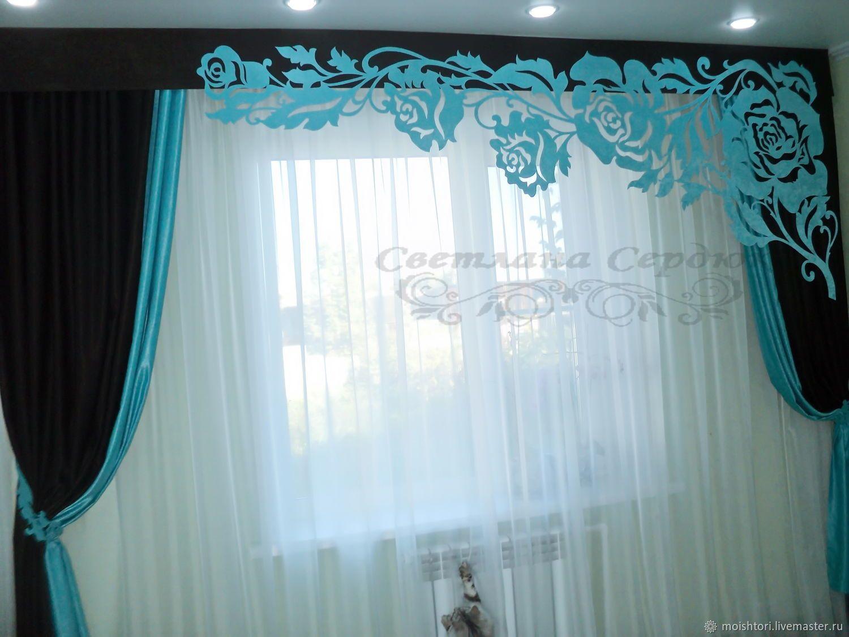 Выкройки штор только для гостиной