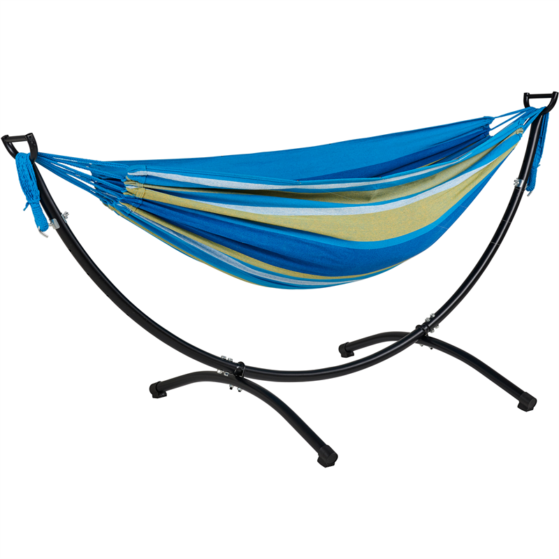 find oztrail double hammock with frame at bunnings warehouse  visit your local store for the find oztrail double hammock with frame at bunnings warehouse      rh   pinterest