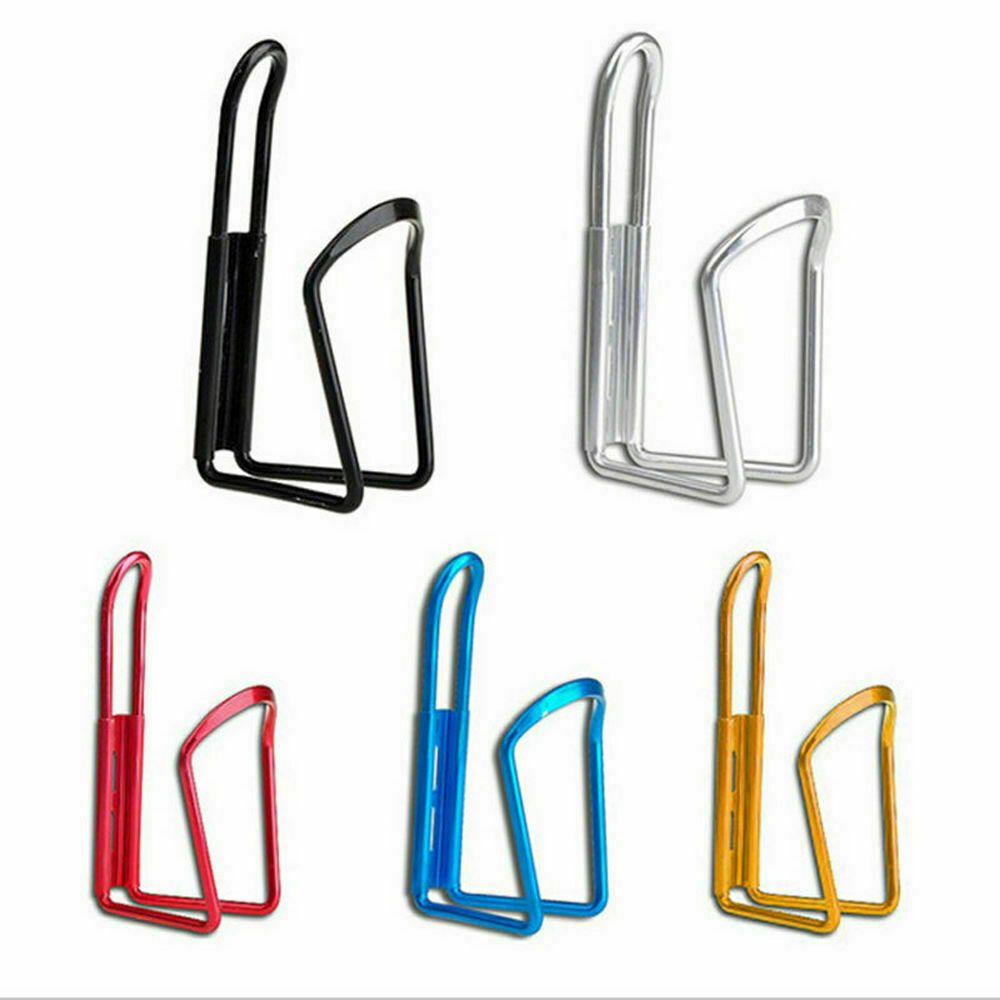 Aluminum Alloy Outdoor Bike Bicycle Cycling Drink Water Bottle Rack Holder Cage