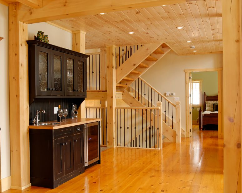 Wood Paneling Pictures Tongue And Groove Images Home Tiny House Stairs Log Cabin Homes