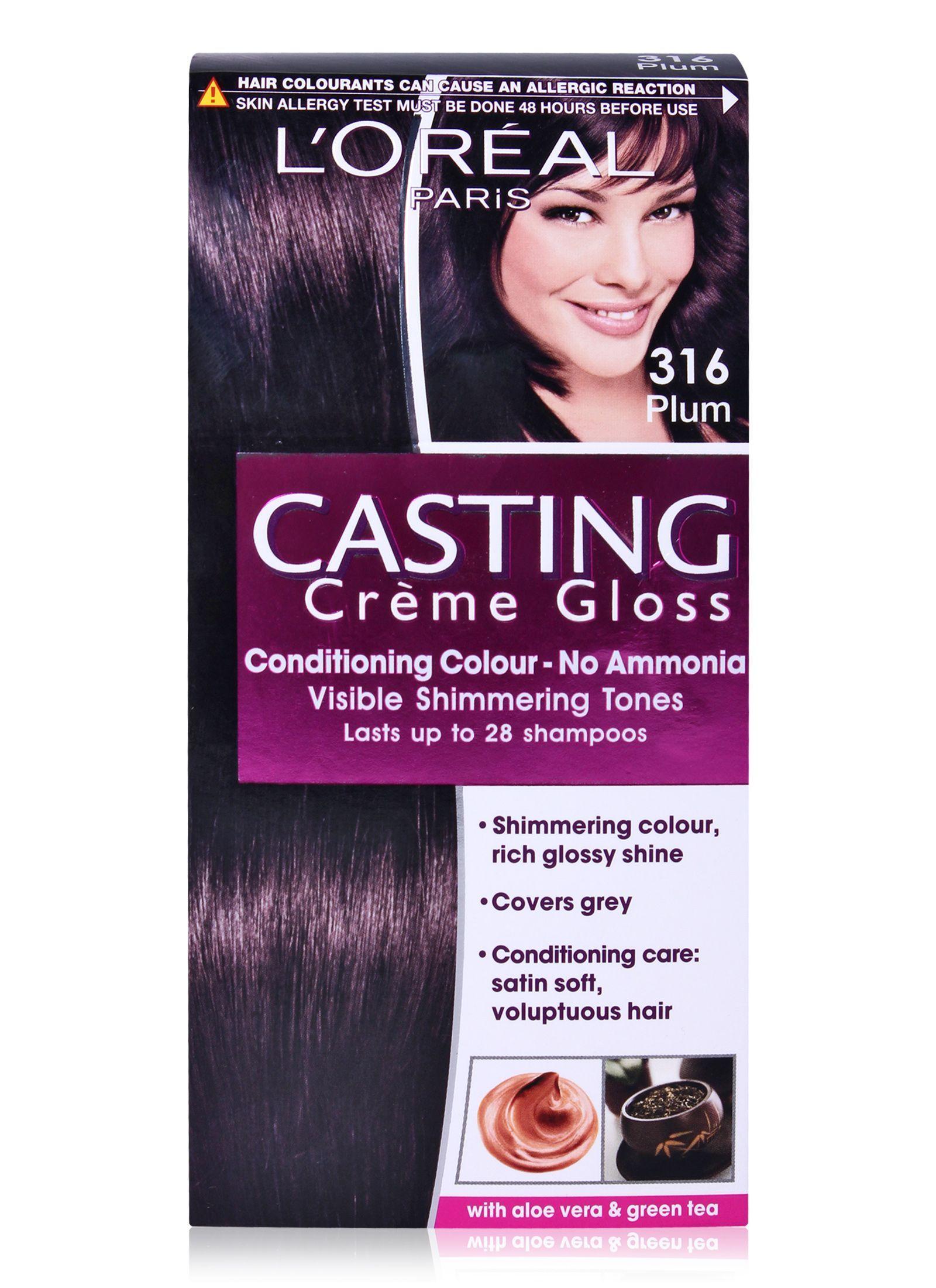 dark plum hair color