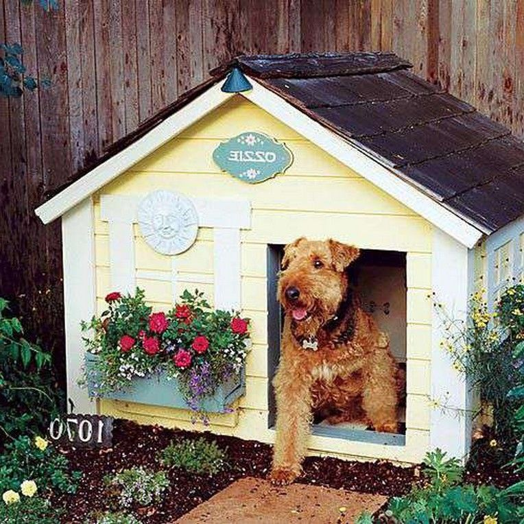 40 Pretty And Amazing Dog House Ideas Cool Dog Houses Dog