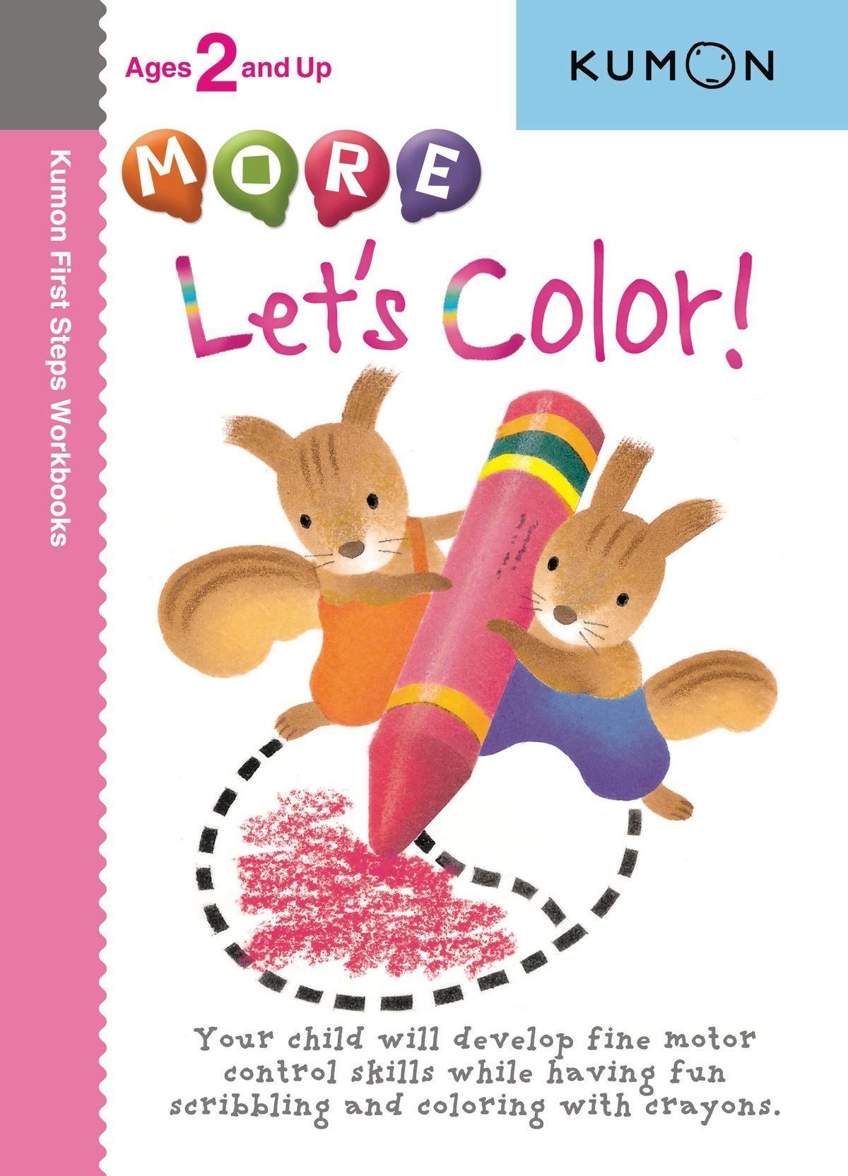 More Let S Color Kumon Childrens Books Activities Workbook [ 1664 x 1200 Pixel ]