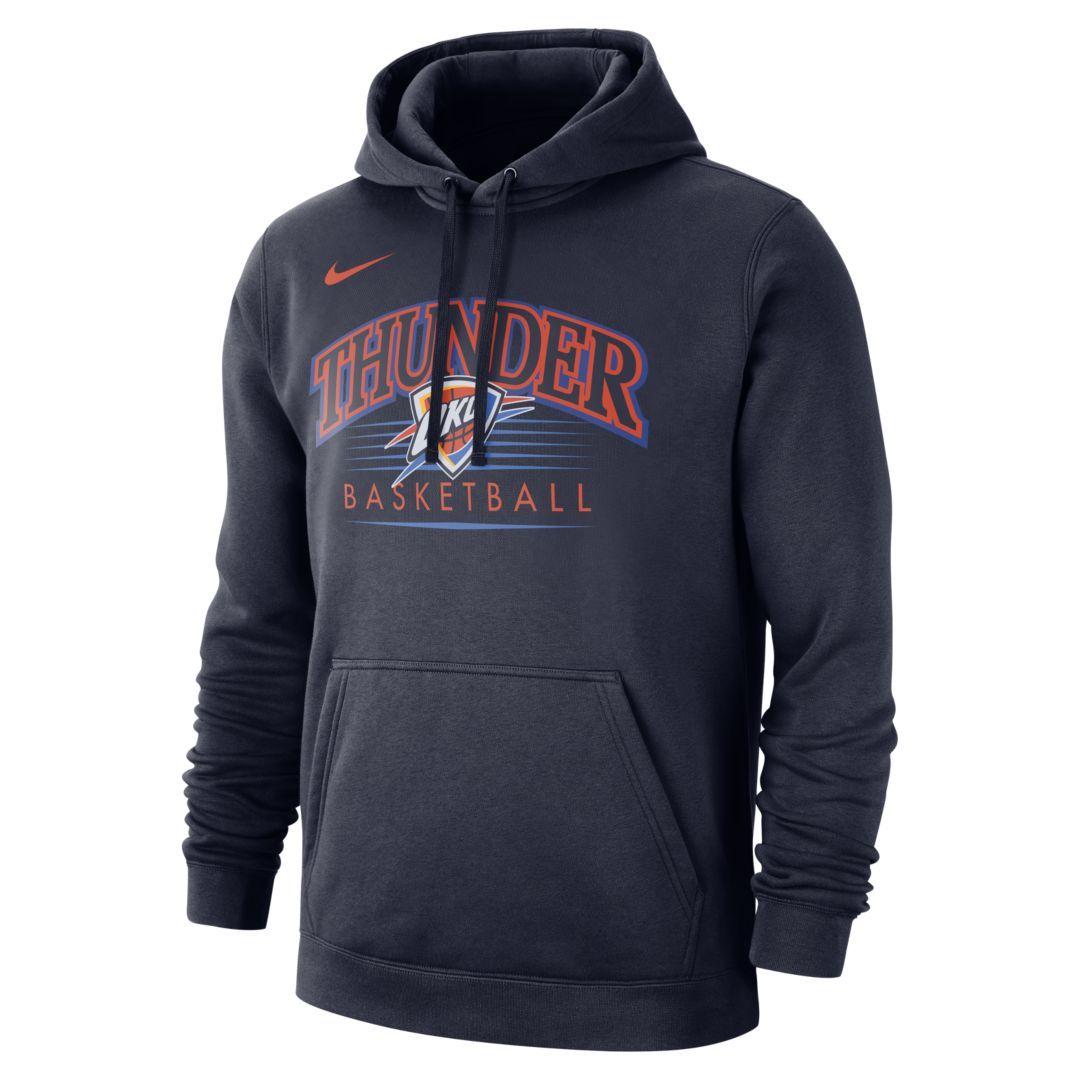 Oklahoma City Thunder Nike Men S Nba Hoodie Size M College Navy