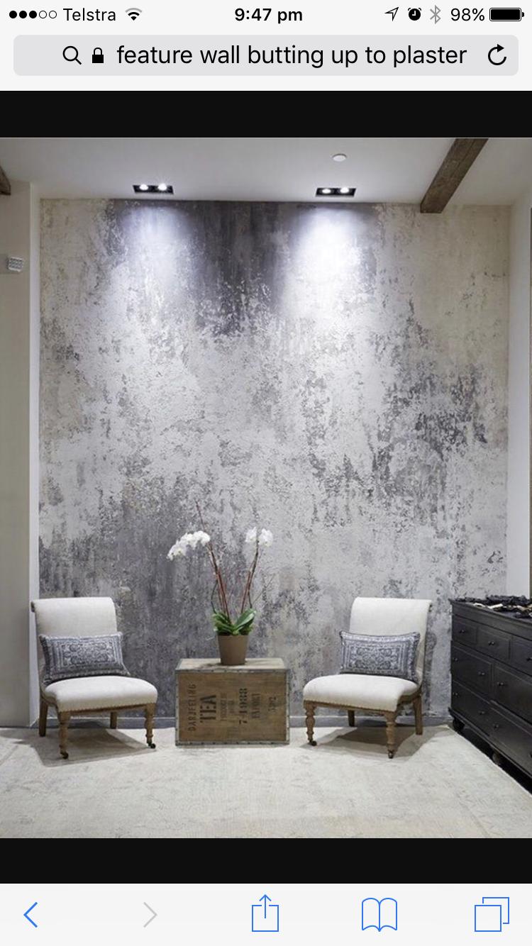 Wandgestaltung, Malerei, Texturierte Hintergründe, Metallische Farbe,  Interieur Styling, Innendekoration, Gestrichene Wände, Wand Behandlungen,  ...