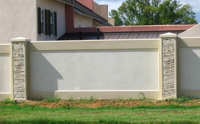 Image Result For Residential Boundary Wall Design