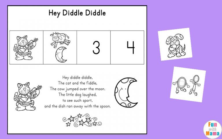 Free Nursery Rhymes Sequencing Activities Free Nursery Rhymes Nursery Rhymes Preschool Nursery Rhymes Activities Free nursery rhymes worksheets for