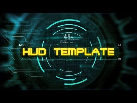 Download Free Intro Template Sony Vegas Pro Hud Opening Youtube