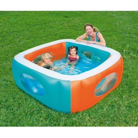 Toys Inflatable Pool Kids Swimming Swimming Pools Backyard