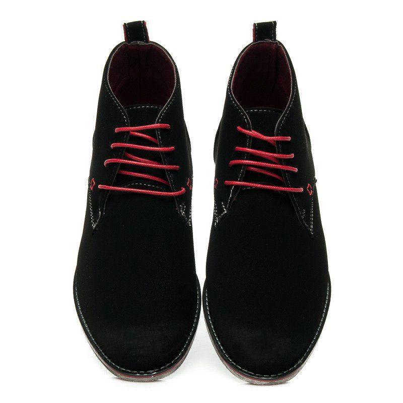 Trekkingowe Meskie Toplay Toplay Czarne Wygodne Buty Meskie Dress Shoes Men Dress Shoes Oxford Shoes