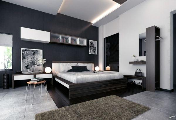 20 id es de mobilier contemporain pour chambre coucher for Mobilier pour chambre a coucher