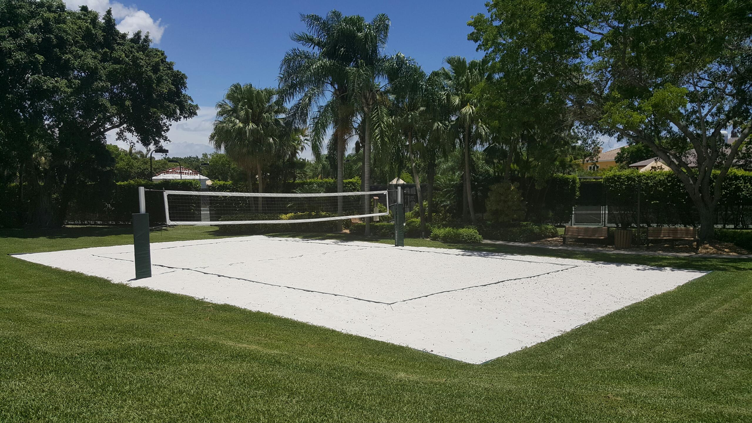 Learn How To Build A Beach Volleyball Court In 2020 Sand Volleyball Court Beach Volleyball Court Volleyball Court Backyard