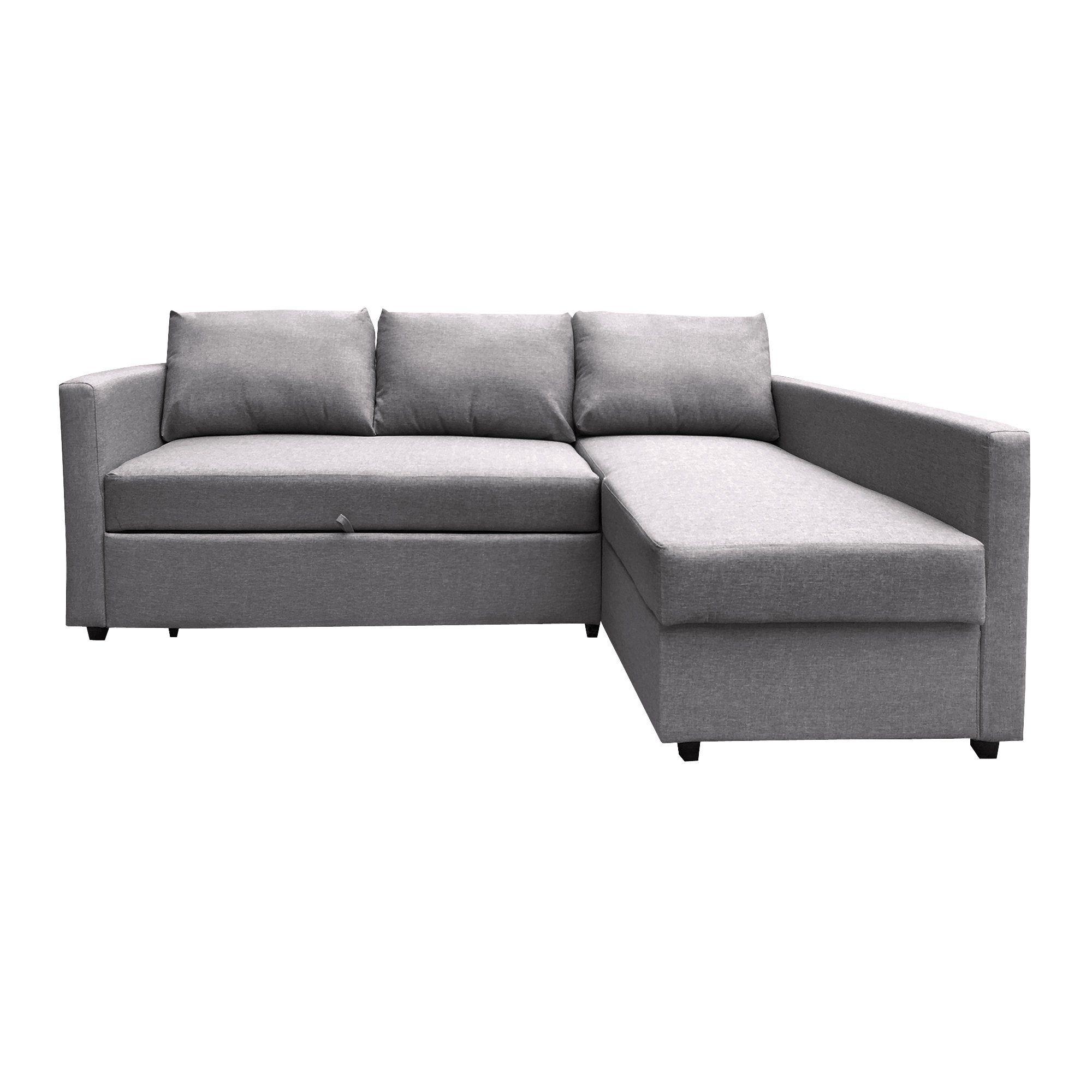 Furniture 247 3 Sitzer L F Rmige Schlafcouch In 2020 Polsterecke Schlafcouch Schlafsofa Mit Bettkasten