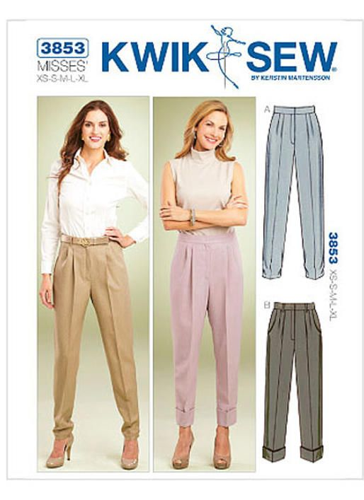K3853 Kwik Sew Patterns Sewing Patterns Lizzies Fashion Sense