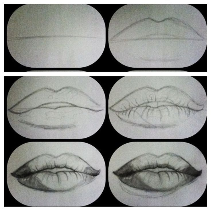 1000 ideas about draw lips on pinterest drawings how to draw realistic and how to draw eyes