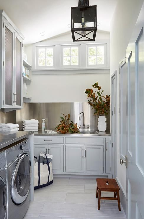 Laundry Room With Sloped Ceiling Laundry Room Design Small Laundry Rooms Home Renovation