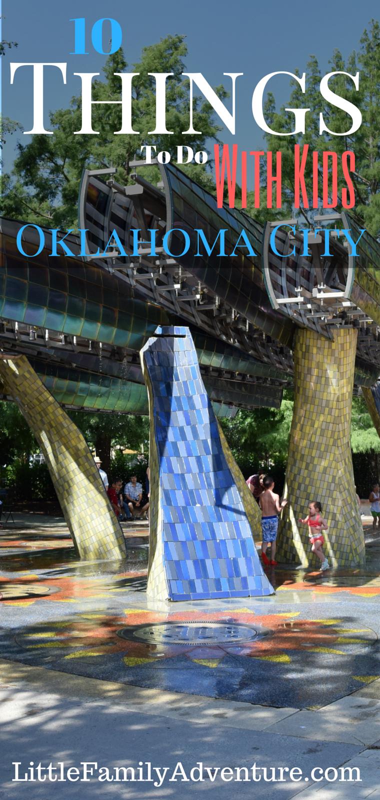 Family Fun Things To Do In Oklahoma City Oklahoma City Fun - 10 things to see and do in oklahoma city