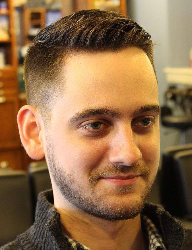 Fryzura Krótki Zaczesany Jeżyk Hairstyles Pinterest Hair Cuts