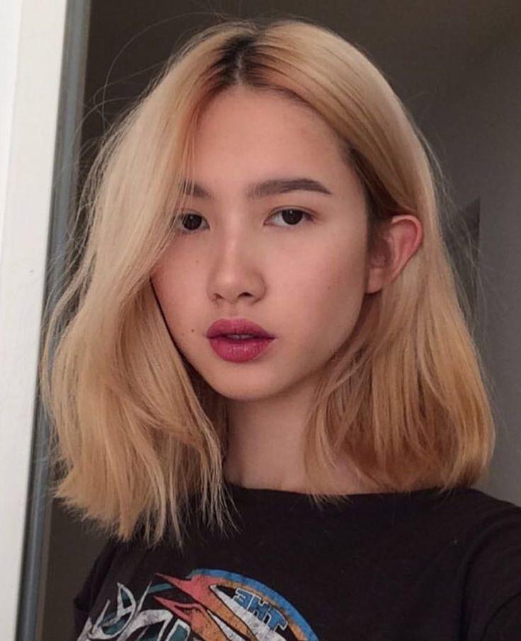 Pinterest Deborahpraha Hair Color Board Classpintag Color Deborahpraha Explore Hair Hrefexp Hair Color Asian Asian Short Hair Blonde Asian Hair