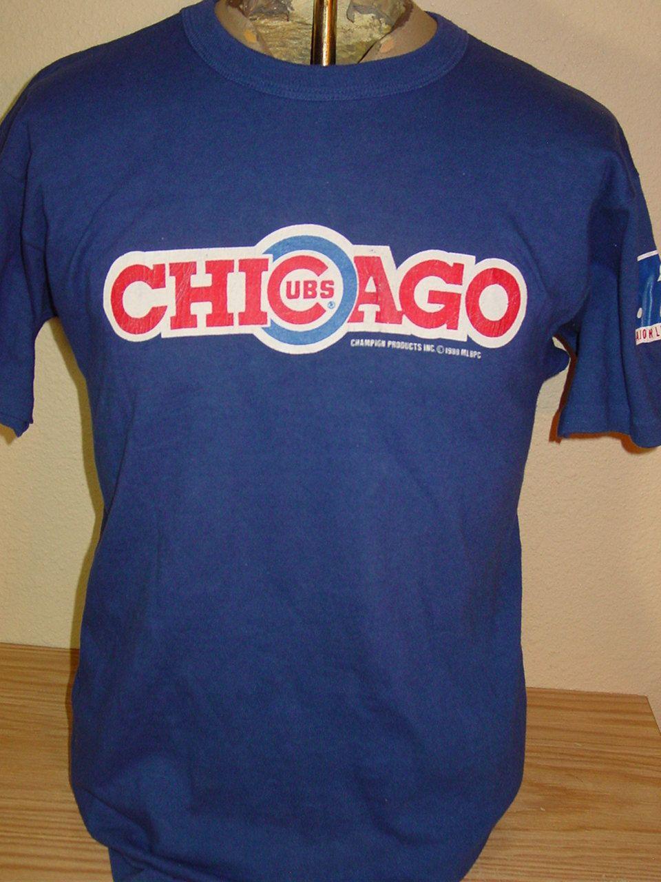 80s Chicago Cubs Champion t-shirt Large IPfrT2nI