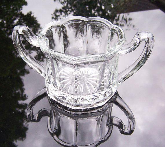 RESERVED For Margherita Vintage Chippendale Sugar Bowl