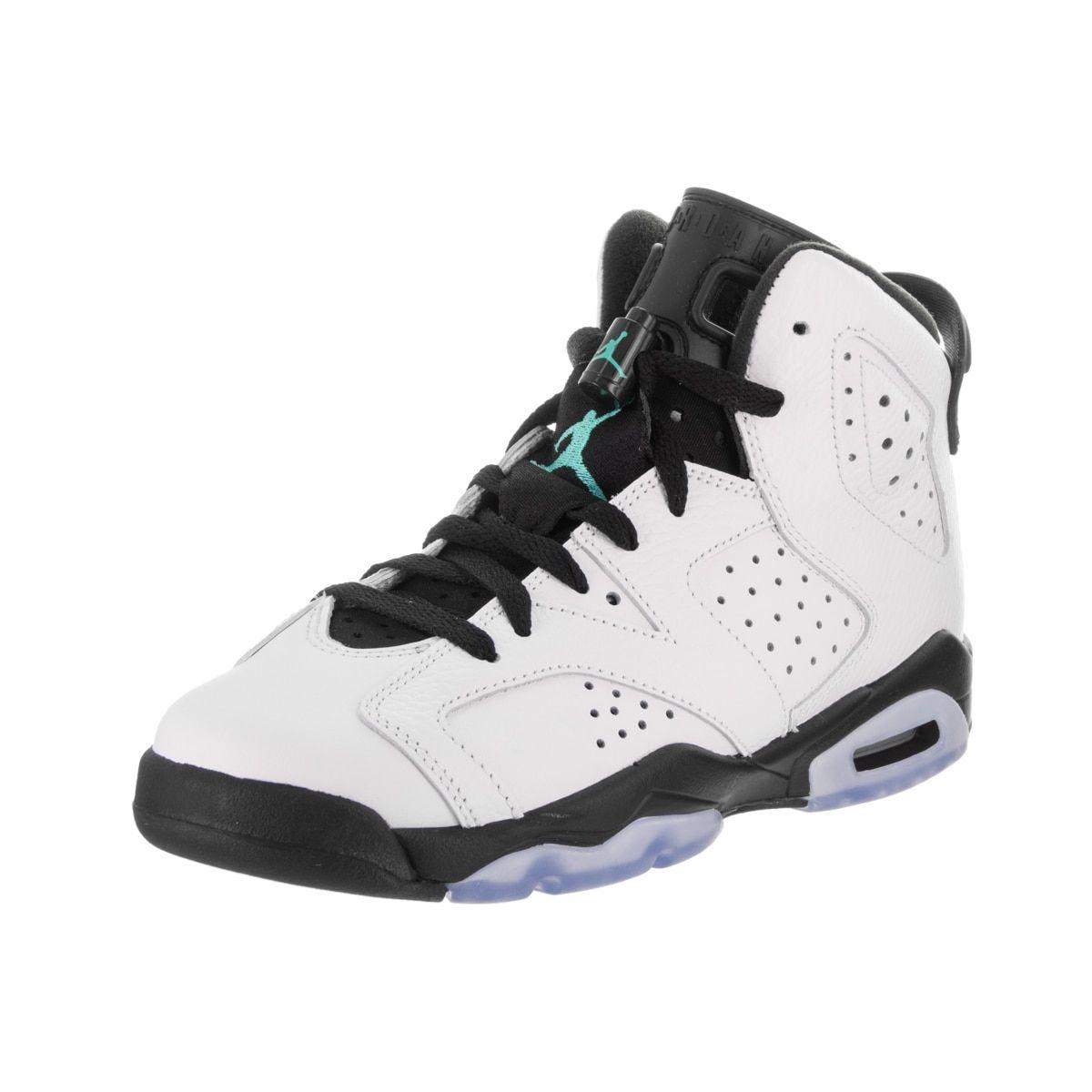 Nike Jordan Kids Air Jordan 6 Retro BG Basketball Shoe