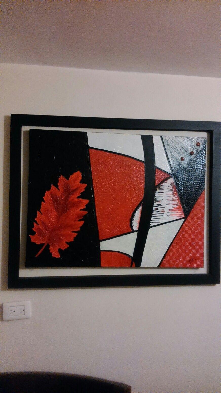 Texturas y acrílico, marco suelto, en MDF, 90x70 | Mis Trabajos ...