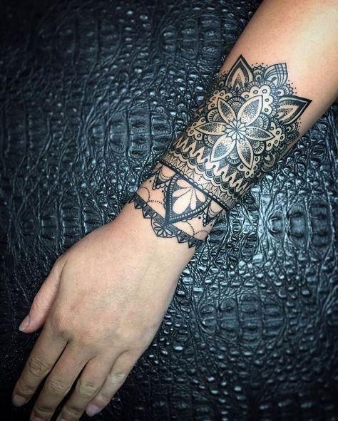 Wrist Cuff Lace Mandala Mehndi: Pin By Cindy Jones On Tattoo
