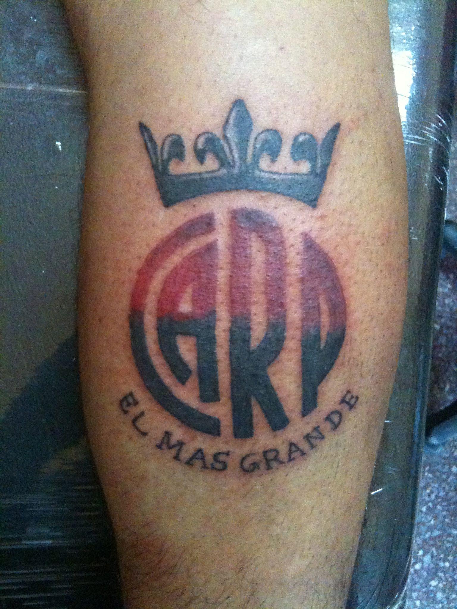 Club Atltico River Plate  TATTOO river  Pinterest
