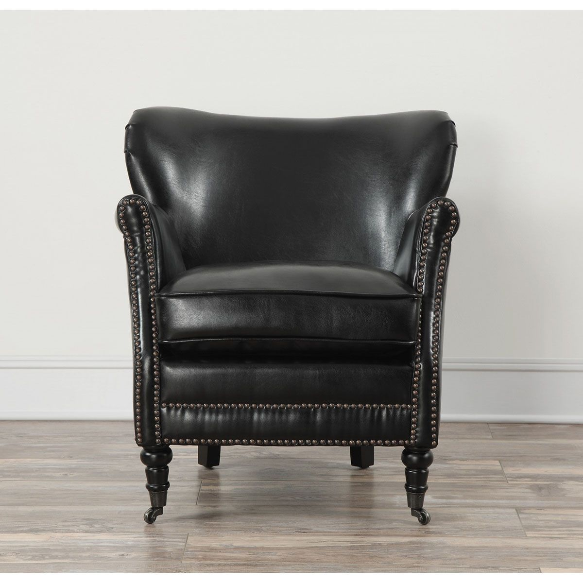 Best Tov Furniture Mercer Black Leather Club Chair Tov A40L1 400 x 300