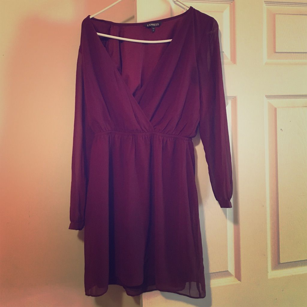Express, Maroon Dress | Products
