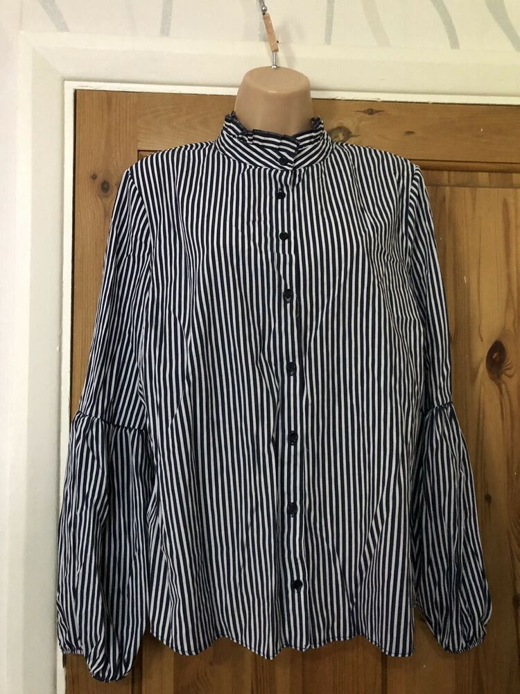 0e345cb6208a0c Primark Womens Ladies Top Shirt Navy Size Uk 16 #fashion #clothing #shoes  #accessories #womensclothing #tops (ebay link)
