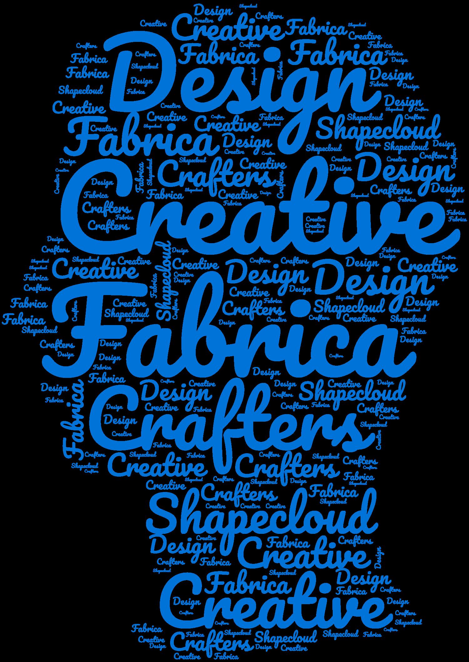 Shapecloud Creative Fabrica Free word art generator