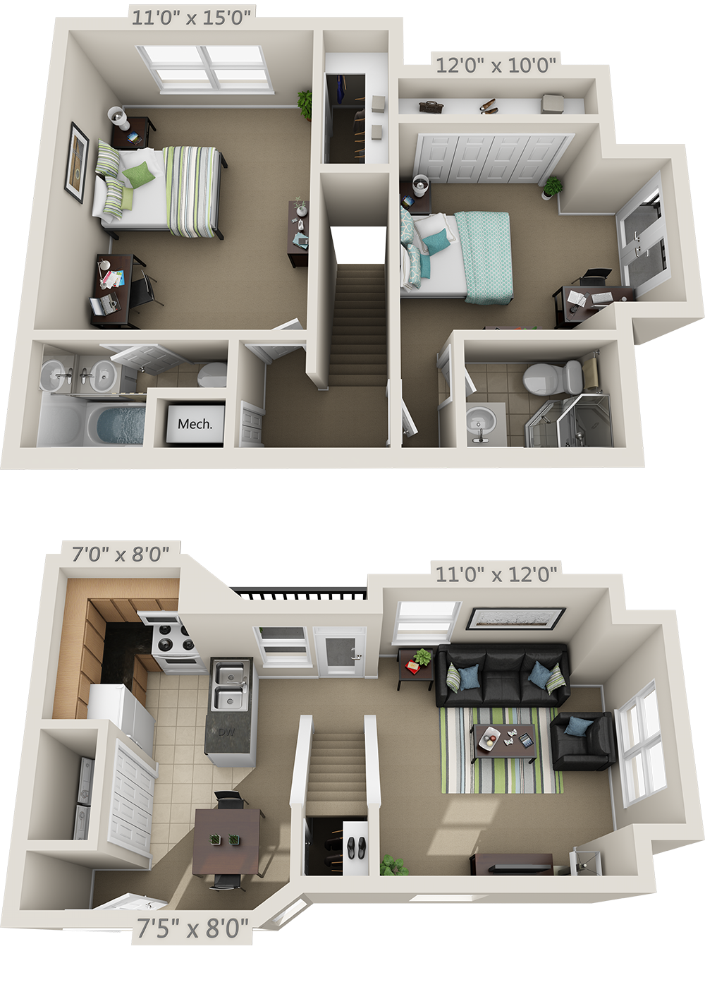 Floor Plans College Park Apartments Apartment Layout Small House Design Plans Sims House