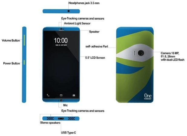 ZTE Project Chooses Winner For New Concept To Create A True Hands-Free, Self-Adhesive Smartphone