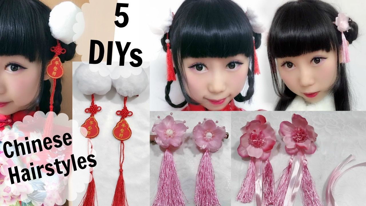 5 diy ancient chinese inspired hair accessories and