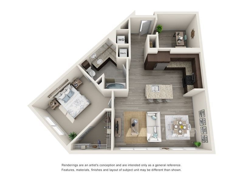 Floor Plans of Helios Apartments in Englewood, CO Apartments