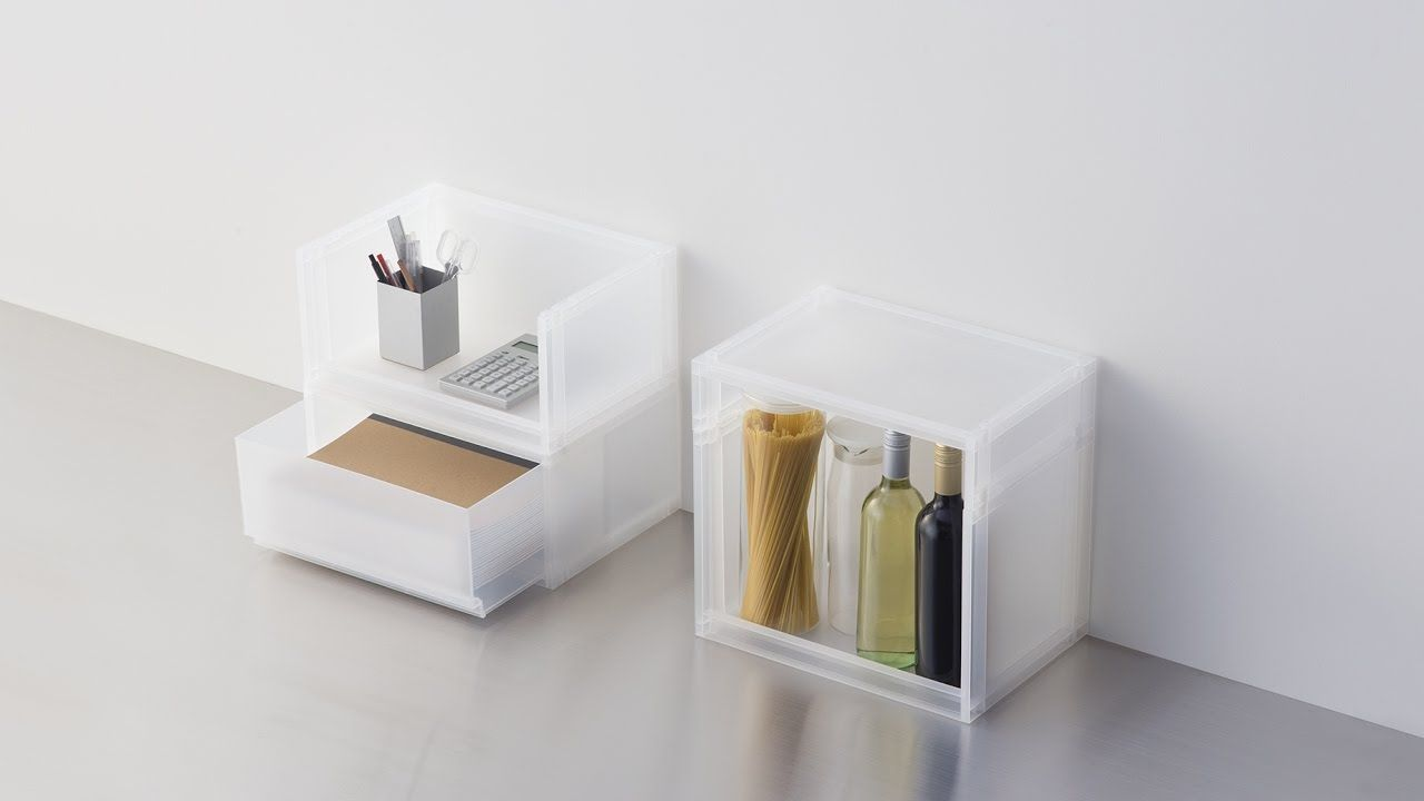 Muji mobili ~ Compact life] muji polypropylene storage can be used from the
