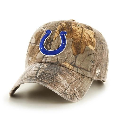Adjustable Realtree Indianapolis Colts Camo Clean Up Hat  20667a8e9d5