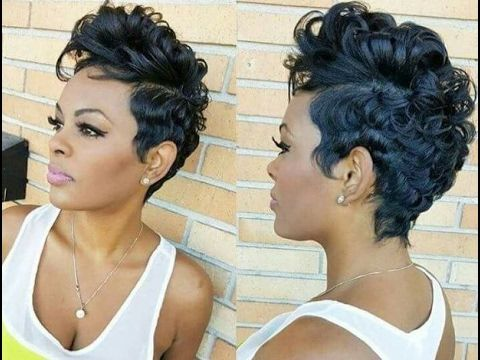 African American Short Hairstyles Amusing African American Women Short Hairstyles And Haircuts 2017 2018